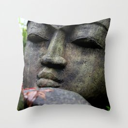 Buddha Love in Photography Throw Pillow