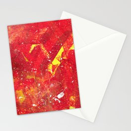 Red Fumes Stationery Cards