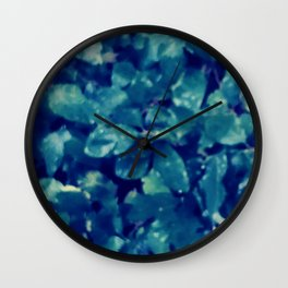 Leaves design Wall Clock