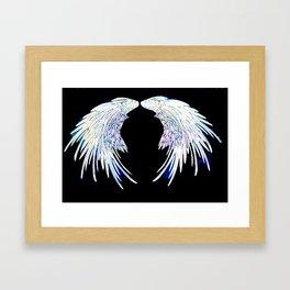 Angel wings 1 Framed Art Print