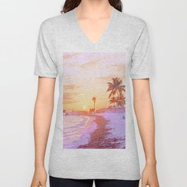 Beach Vibes Unisex V-Neck