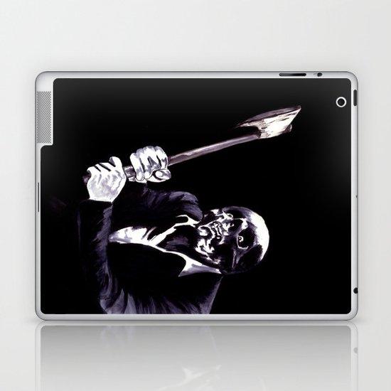 Bastard's Got A Hatchet  Laptop & iPad Skin