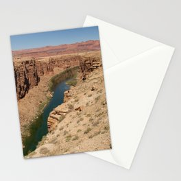 Colorado_River - Marble_Canyon, AZ Stationery Cards