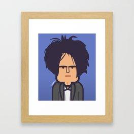 Robert Smith (The Cure) 1985 Framed Art Print