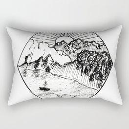 New Zealand's beauty *Te Anau Rectangular Pillow