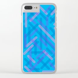Microtopia Clear iPhone Case