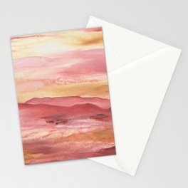 Pink Moment in Ojai II Stationery Cards