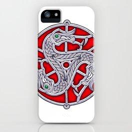 Vendel Triskele iPhone Case