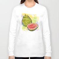 vietnam Long Sleeve T-shirts featuring Vietnam Guava by Vietnam T-shirt Project