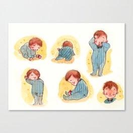 Baby Boy Blue Canvas Print