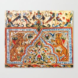 old motives / colorful / Armenian  Canvas Print