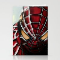 spider man Stationery Cards featuring Spider-Man by Inspirations