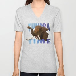 TUNDRA TIME Unisex V-Neck