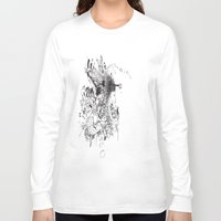 sketch Long Sleeve T-shirts featuring Sketch  by 5CUZ1
