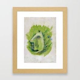A very good Wolf Framed Art Print