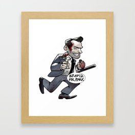 Jeremy-this-asshole-Blaire Framed Art Print