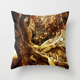 Nature Elders Throw Pillow