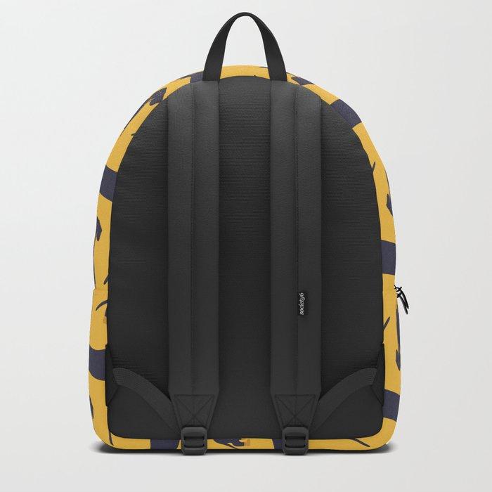Trendy Dachshund Illustration Pattern Backpack
