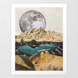 Luna Ladies #1 Art Print