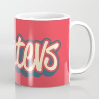 whatever Mugs featuring Whatever. by Word Quirk