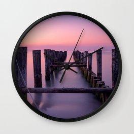 Ocean Solitude Wall Clock