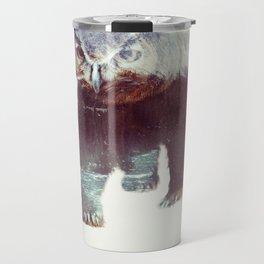 Owlbear (Typography) Travel Mug