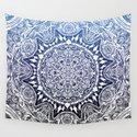 Blue Gradient Mandala by mailboxdisco