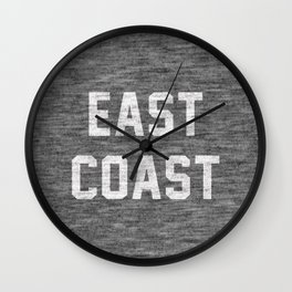 East Coast Wall Clock