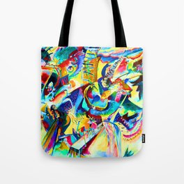 Wassily Kandinsky Improvisation Gorge Tote Bag