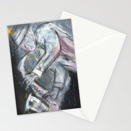 Jazz Player Stationery Cards