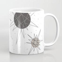 Atomic Stars Pink Coffee Mug