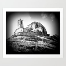 Spanish Iglesia Art Print