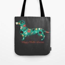 Happy Hallo-Weenie Tote Bag