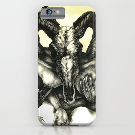 The Ram and the Crows iPhone & iPod Case