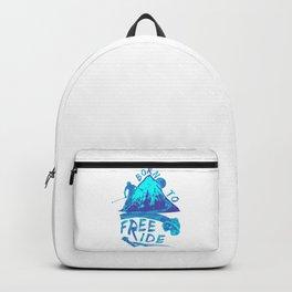 Born To Freeride Backcountry Skiing pb Backpack