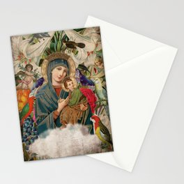 Saints Collection -- Madonna And Child Stationery Cards