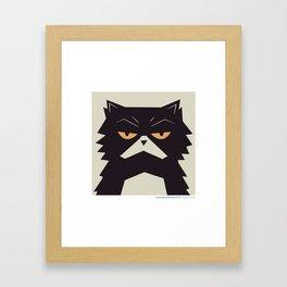#30daysofcats 07/30 Framed Art Print