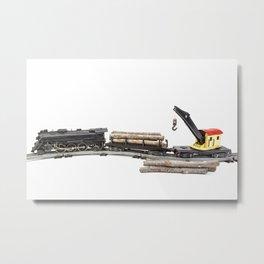 Vintage Model Train 6 Metal Print