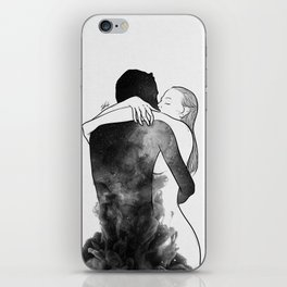 I am the luckiest to have you. iPhone Skin