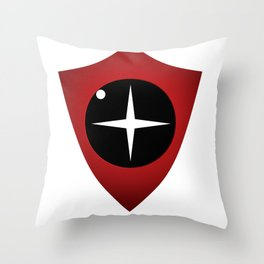 Red Sight Throw Pillow