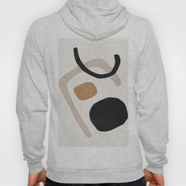 Mid century abstract shapes Hoody