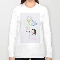 ballon Long Sleeve T-shirts featuring Ballon by eteru