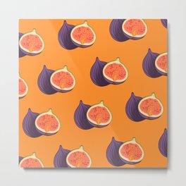 Fig Autumn Colour Trends  Metal Print
