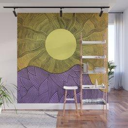 New Horizont Wall Mural