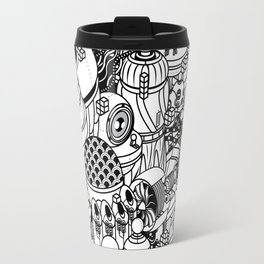 Dark Matter Space Machine Travel Mug