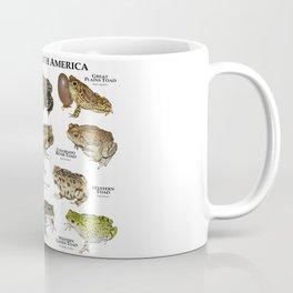 Toads of North America Coffee Mug