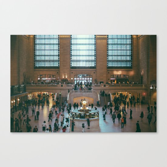 The Amazing Grand Central Station II Canvas Print