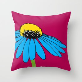 The ordinary Coneflower Throw Pillow