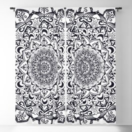 Mandala 001 Blackout Curtain