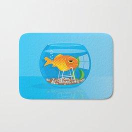 Old Fish Bath Mat